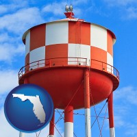 florida a water storage tower