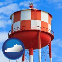 kentucky a water storage tower
