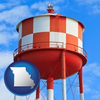 missouri a water storage tower
