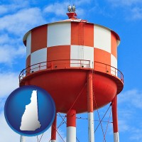 new-hampshire a water storage tower