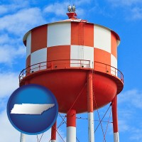 tennessee a water storage tower