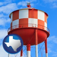 texas a water storage tower